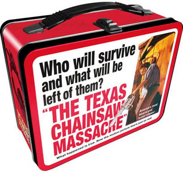 Texas Chainsaw Massacre- Who Will Survive? lunch box