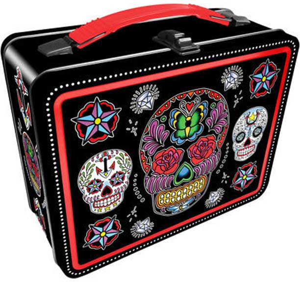 Sugar Skulls lunch box