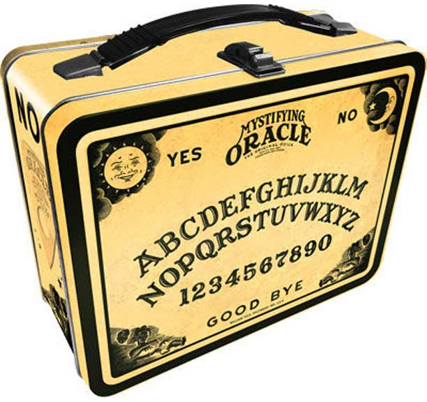 Ouija lunch box