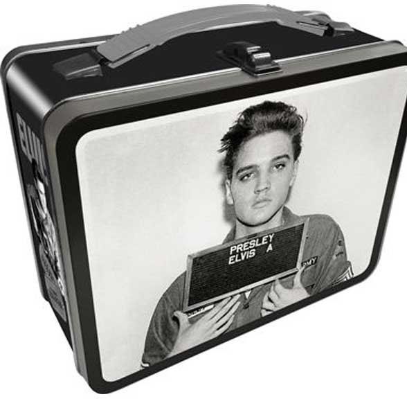 Elvis Presley- Elvis Enlistment lunch box