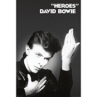 David Bowie- Heroes poster