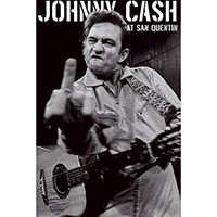 Johnny Cash- At San Quentin Finger poster