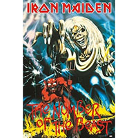 Iron Maiden- Number Of The Beast Poster (A12)