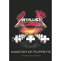 Metallica- Master Of Puppets Fabric Poster/Wall Tapestry