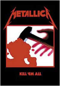 Metallica- Kill 'Em All Fabric Poster