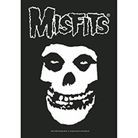 Misfits- Crimson Ghost Skull Fabric Poster/Wall Tapestry/Flag