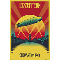 Led Zeppelin- Celebration Day poster