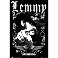 Lemmy (Motorhead)- 1945-2015 (Lemmy Pointing) poster