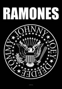 Ramones- Presidential Seal Fabric Poster