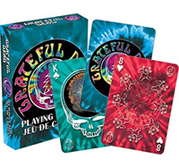Grateful Dead- Tie Dye Playing Cards