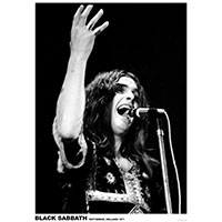 Black Sabbath- Holland 1971 Poster (C8)