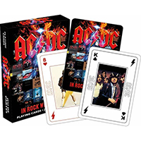 AC/DC- In Rock We Trust Playing Cards