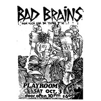 Bad Brains- Show Flyer poster