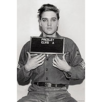 Elvis Presley- Enlistment poster (D12)