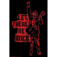 AC/DC- Let There Be Rock poster
