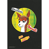 Sex Pistols- Who Killed Bambi Fabric Poster