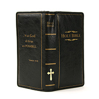Holy Bible Zip Wallet by Comeco