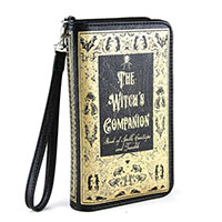 The Witch Companion Book Clutch Wallet by Comeco