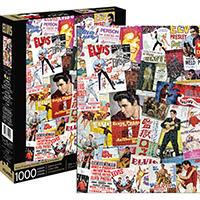 Elvis Presley- Movie Collage 1000 Piece Puzzle