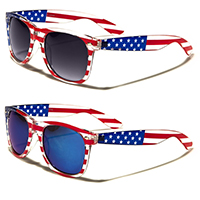 Sunglasses- FLAG (Various Color Lenses)
