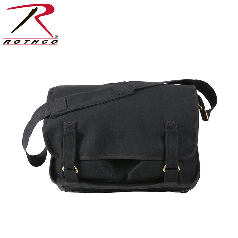 European School Bag by Rothco- BLACK