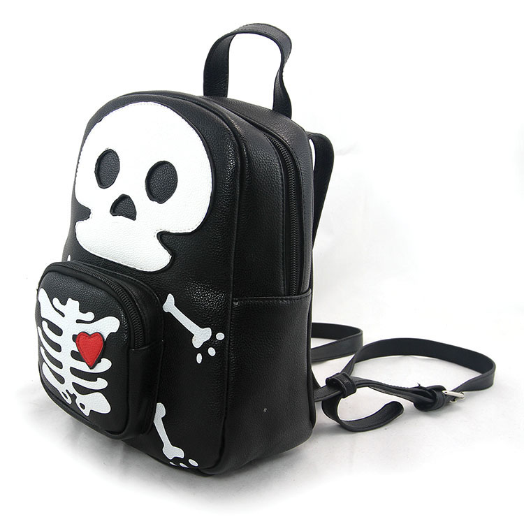Sleepyville Critters Skeleton Mini Backpack