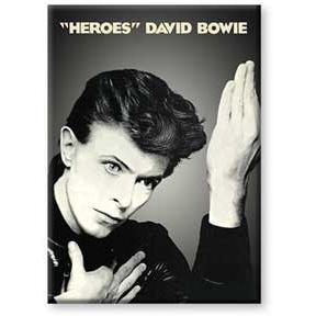David Bowie- Heroes magnet