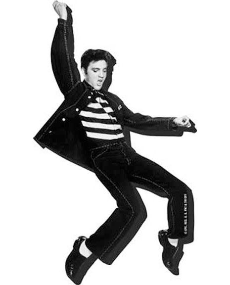 Elvis Presley- Jailhouse Rock chunky magnet