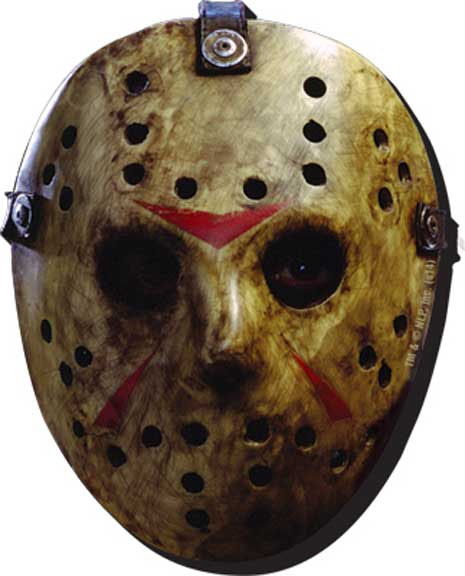 Friday The 13th- Mask chunky magnet