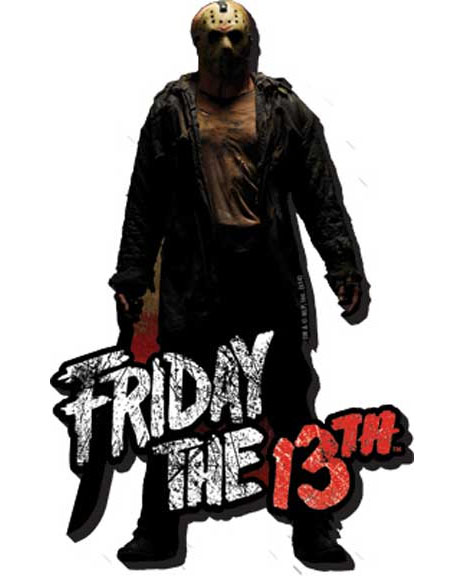Friday The 13th- Jason chunky magnet