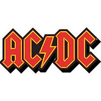 AC/DC- Logo chunky magnet