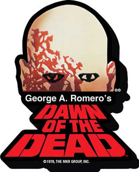 Dawn Of The Dead- Logo chunky magnet