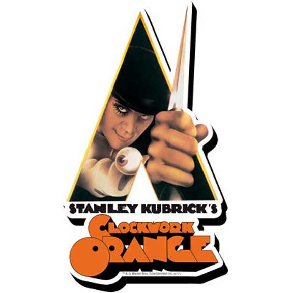 Clockwork Orange- Triangle chunky magnet
