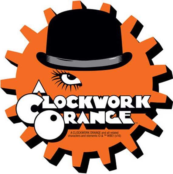 Clockwork Orange- Logo chunky magnet
