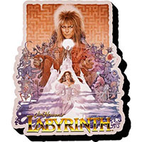 Labyrinth- Collage chunky magnet