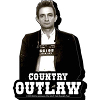 Johnny Cash- Country Outlaw chunky magnet