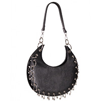 Waxing Crescent Shoulder Bag by Banned Apparel