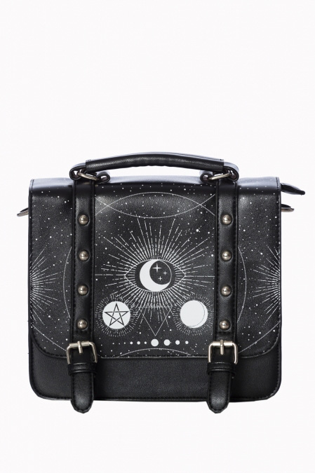 Cosmic Small Satchel Bag by Banned Apparel