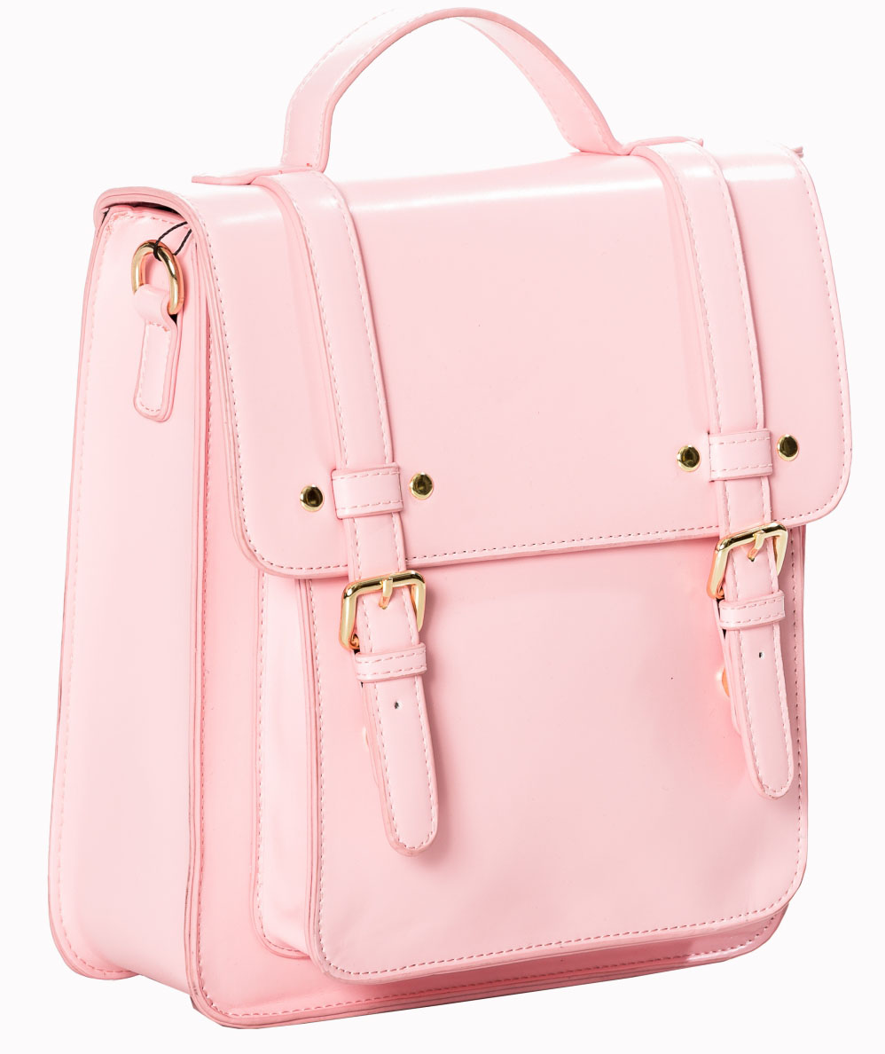 Cohen Bag / Backpack by Banned Apparel - in Pink