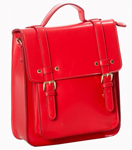 Cohen Bag / Backpack by Banned Apparel - in Red