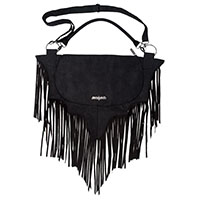 Bat Fringe Shoulder Bag by Kreepsville 666