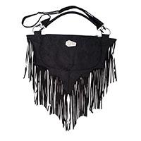 Elvira Bat Fringe Shoulder Bag by Kreepsville 666
