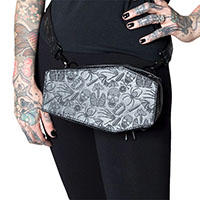 Coffin Fanny Pack/ Hip Pouch by Kreepsville 666