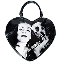 Vampira Heart Purse / Bag by Kreepsville 666