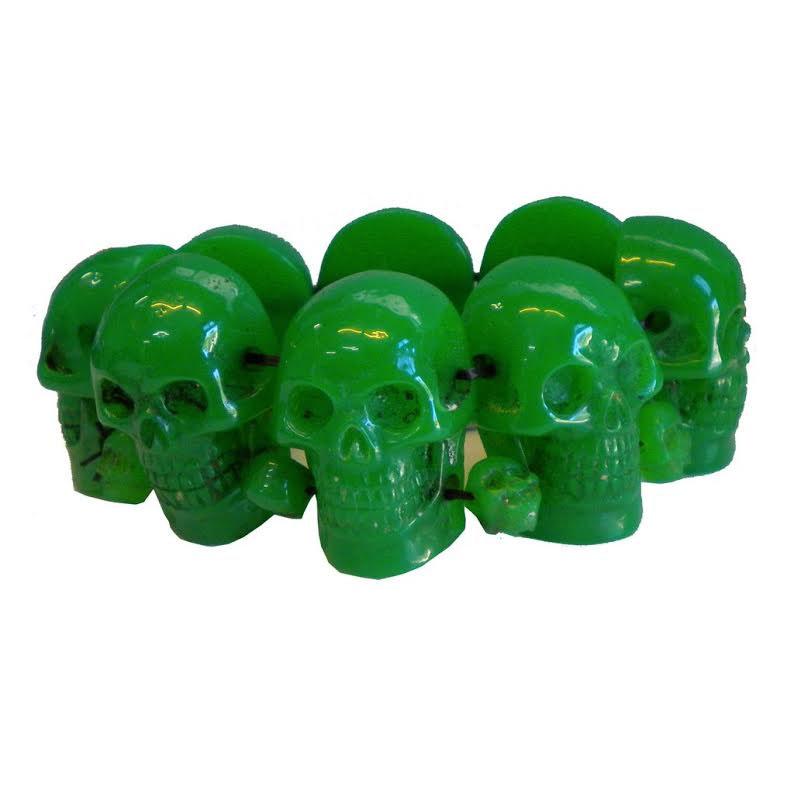 Skull Collection Bracelet by Kreepsville 666 - Green