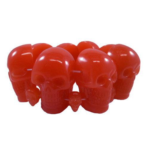 Skull Collection Bracelet by Kreepsville 666 - Blood Red