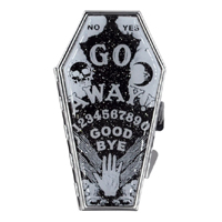 Go Away Ouija Coffin Compact / Mirror by Kreepsville 666