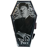Vincent Price Coffin Compact / Mirror by Kreepsville 666