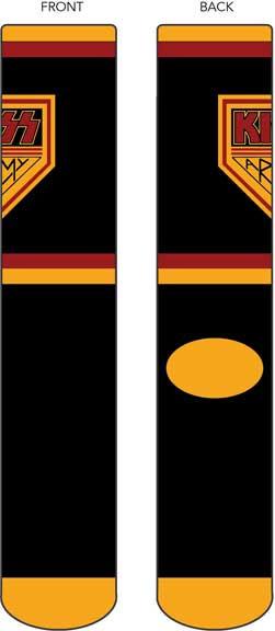 Kiss- Kiss Army Socks