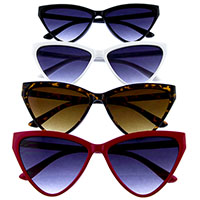 90's Geometric Cat Eye Retro Sunglasses (Various Colors)